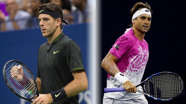 Tennis : Ferrer - Del Potro, un duel qui sent la poudre