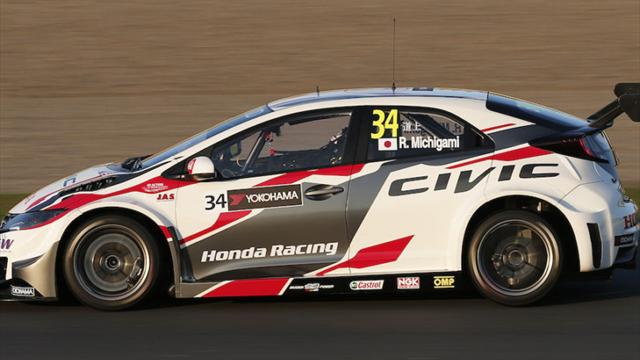 All thanks to Honda, says WTCC's Michigami