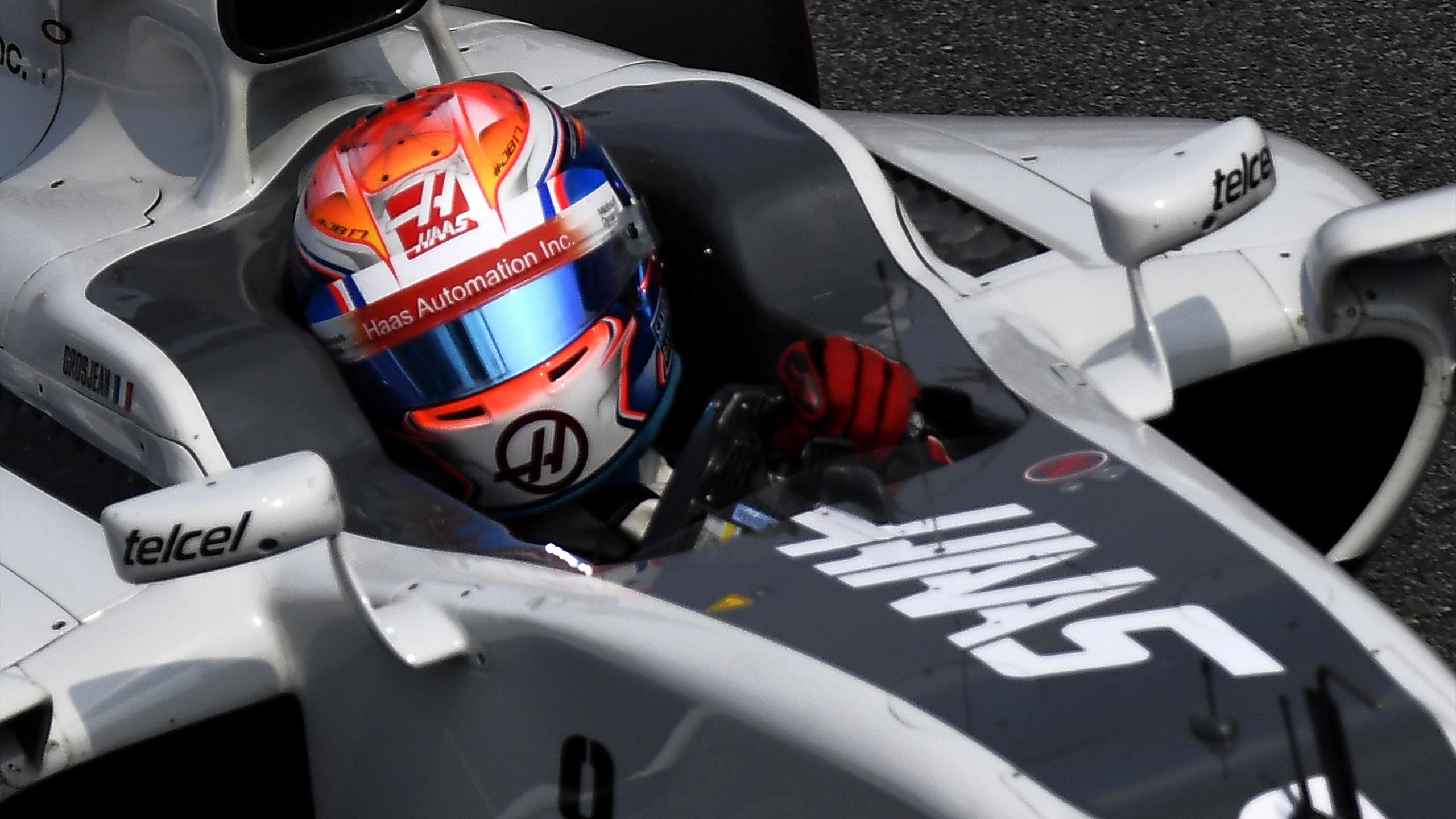 Romain Grosjean (Haas) au Grand Prix d'Italie 2016
