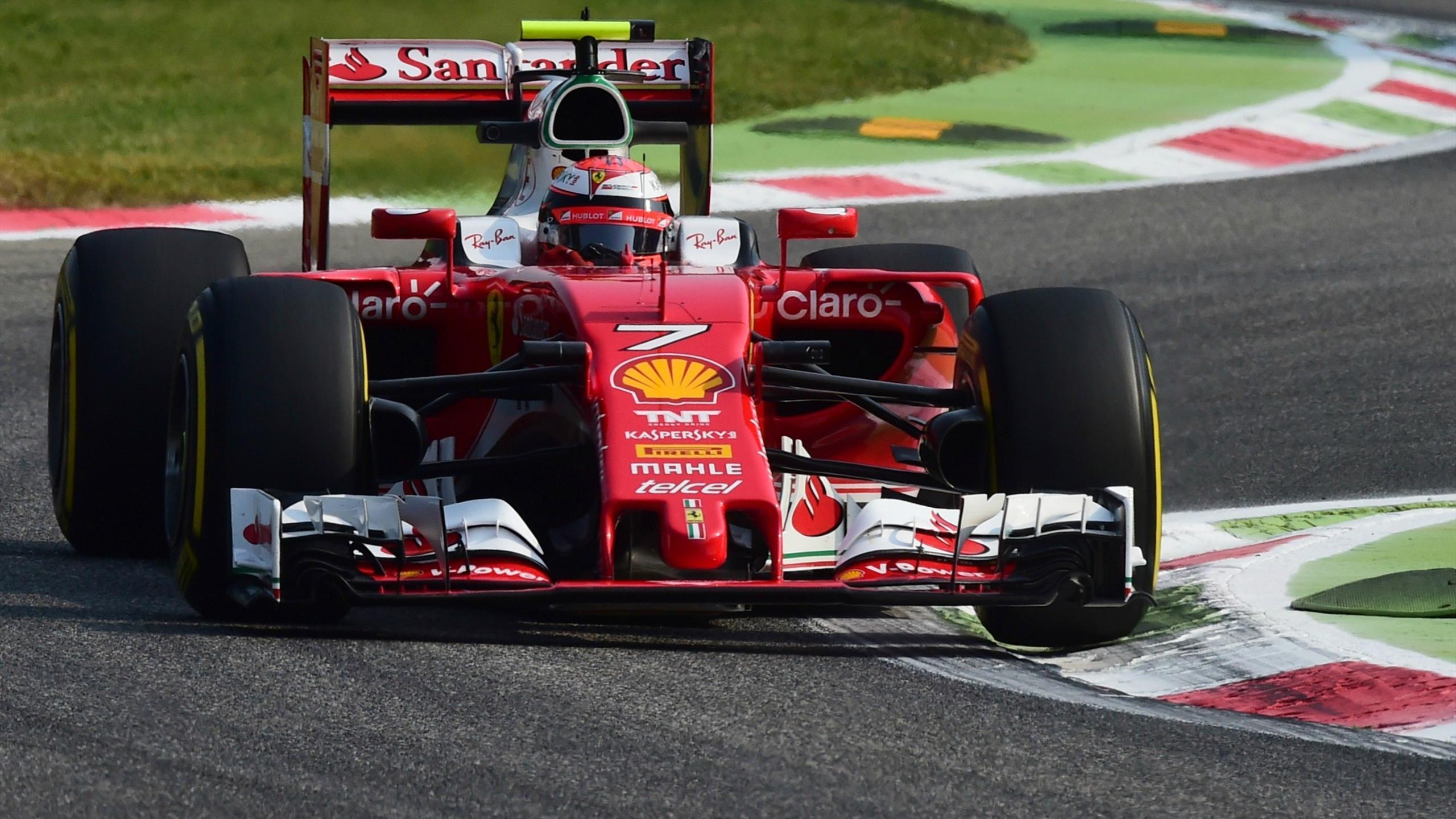 Kimi Räikkönen (Ferrari) au Grand Prix d'Italie 2016
