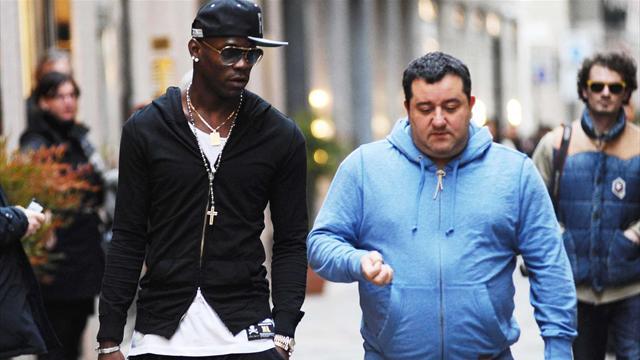 Pour Raiola, pas de doute : Nice n'est qu'une étape, Balotelli «retournera» en Angleterre