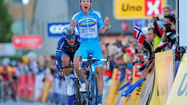 Tour of Oman, Soren Andersen vince la terza tappa, Hermans guida la generale
