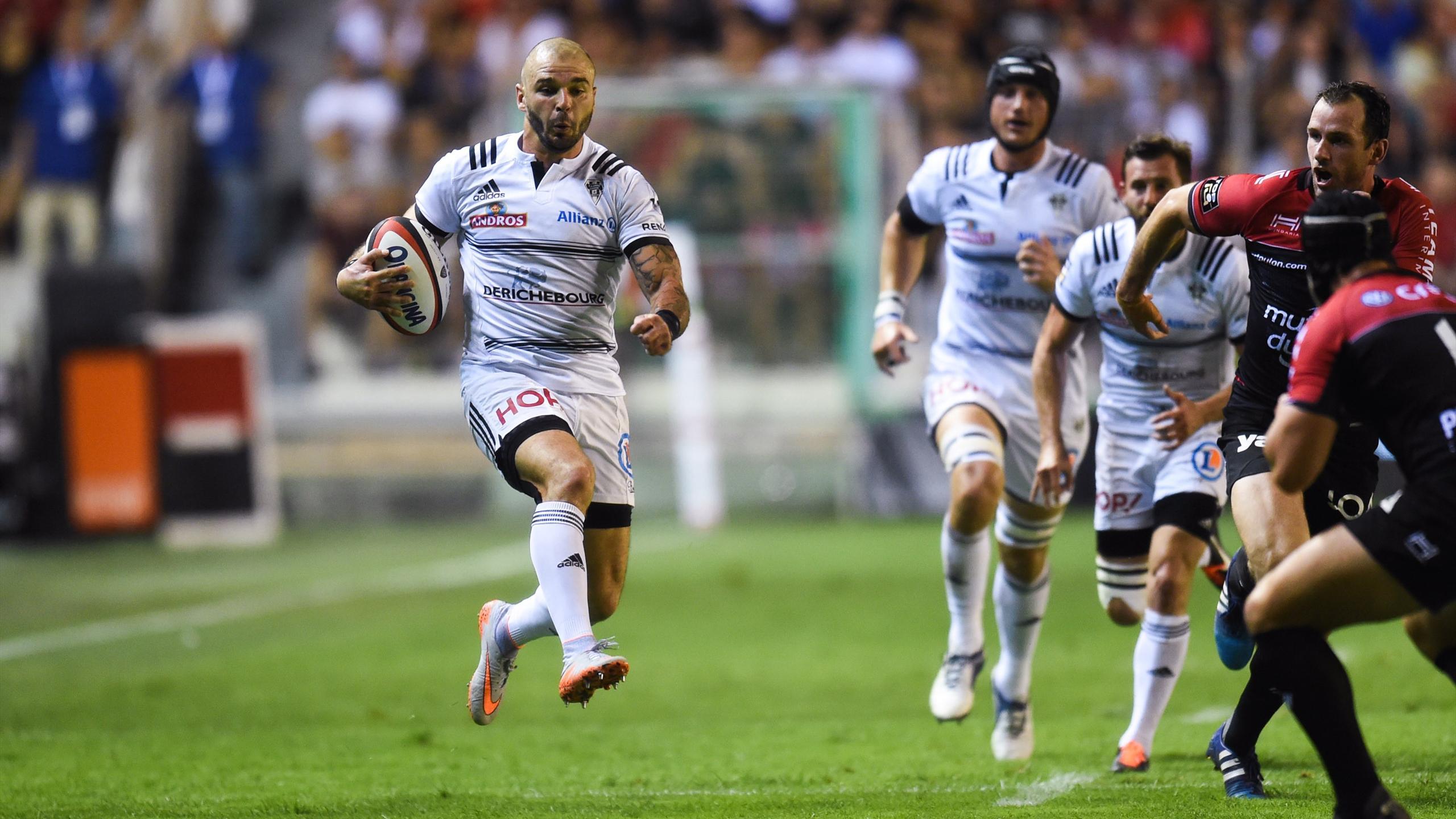 Benjamin Lapeyre (Brive) face à Toulon - 3 septembre 2016