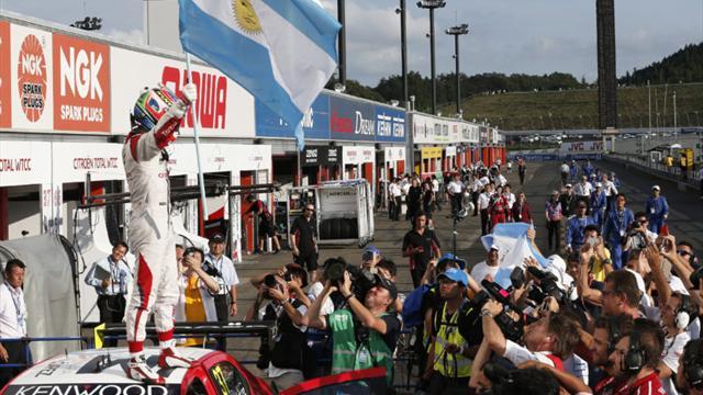Jose Maria Lopez takes provisional WTCC title