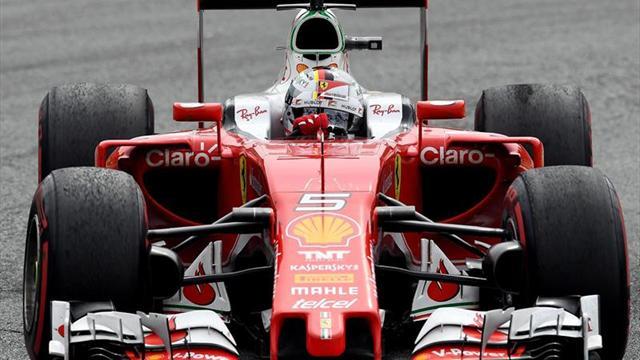 Rosberg le pisa los talones a Hamilton
