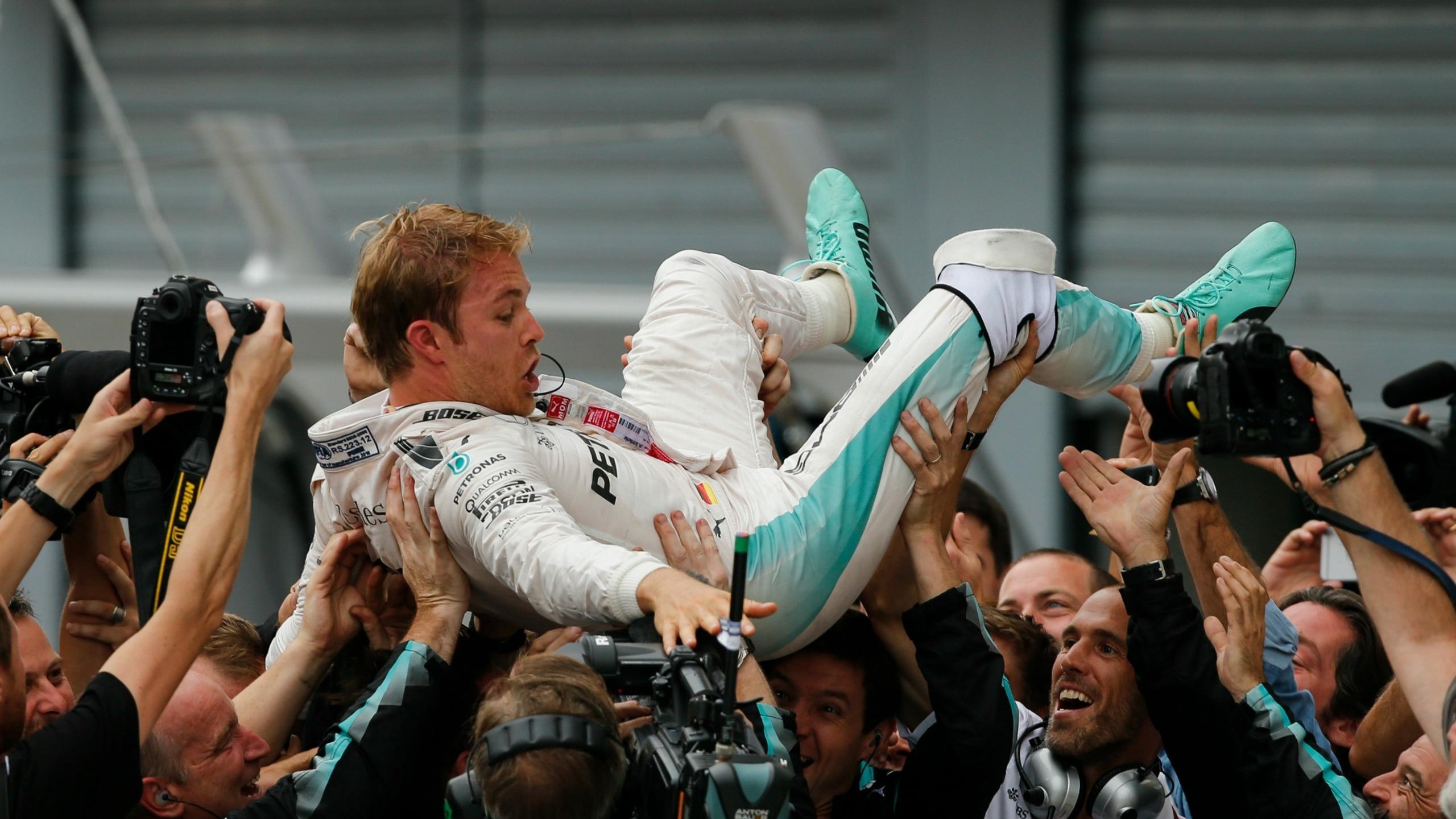 Nico Rosberg (Mercedes) au Grand Prix d'Italie 2016