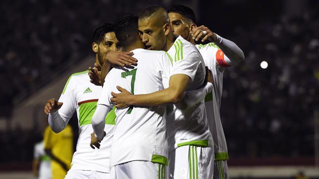 L'Algérie appelle Mahrez, Slimani et Ghezzal mais se prive de Feghouli