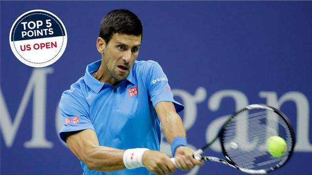 Le Top 5 des points de dimanche : Djokovic, Pouille et Monfils ont sorti leur baguette magique