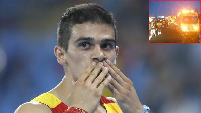 """""""Bruno Hortelano nota mucha mejoría día a día y está animado"""", asegura su representante"""