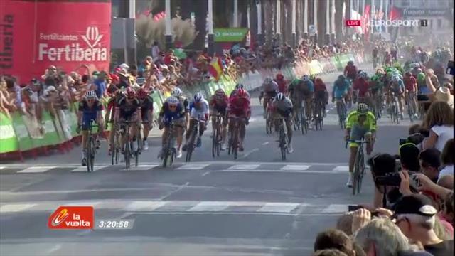 Drucker a su attendre le bon moment : revivez le finish de la 16e étape