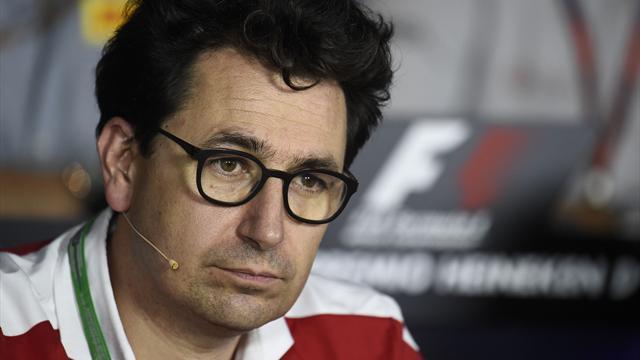 Binotto remplace Arrivabene à la tête de la Scuderia Ferrari