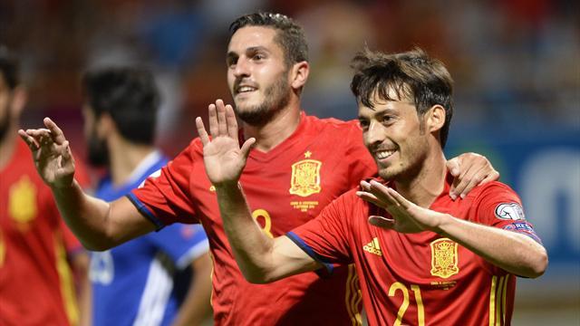 L'Espagne et le pays de Galles déroulent, l'Italie gagne «à l'italienne»