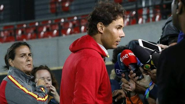 Nadal se pronuncia tras la destitución de Conchita Martínez como capitana