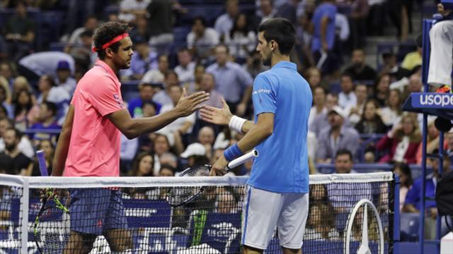 Novak Djokovic close to peak after walkover victory over Jo-Wilfried Tsonga