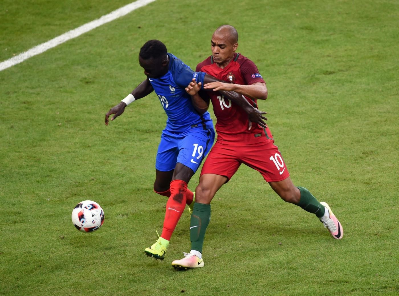 João Mário Sagna - France-Portugal - Euro 2016 - LaPresse