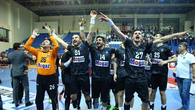 Beşiktaş Mogaz, Danimarka deplasmanında