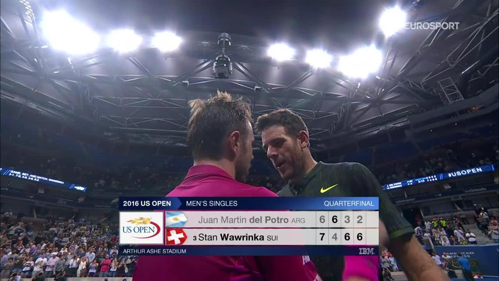 VIDEO - US Open 2016: Del Potro-Wawrinka, resumen del partido - US ...