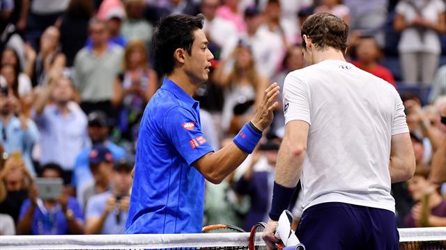 """Nishikori : """"Ma concentration s'est évaporée : il fallait rejouer le point"""""""