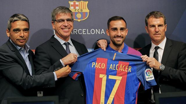 Erreur de casting au Barça ? Paco Alcacer n'en est pas encore là