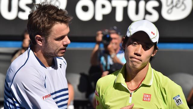 Wawrinka-Nishikori : plus qu'un match, un amour à concrétiser