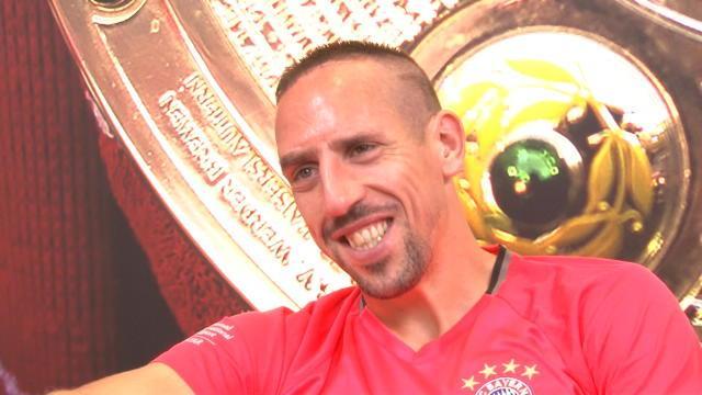 """Ribéry : """"Je suis prêt à 100%"""""""