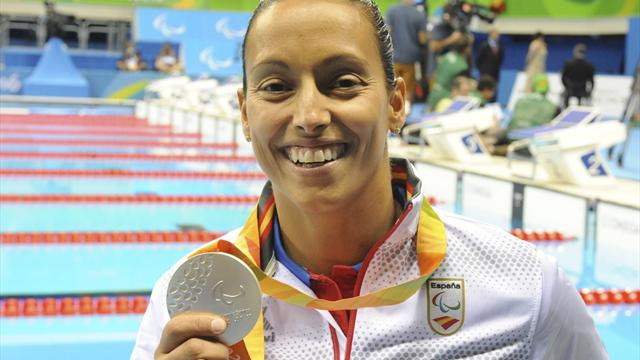 Juegos Paralímpicos Río 2016: Teresa Perales resurge y se cuelga una medalla de plata