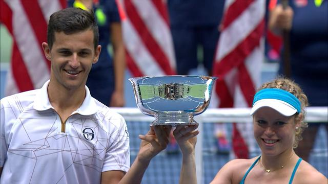 Pavic and Siegemund win U.S. Open mixed doubles