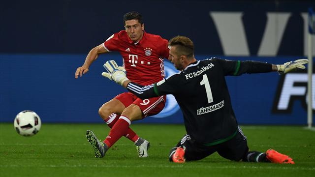Бавария вырывает победу уШальке состопроцентной реализацией