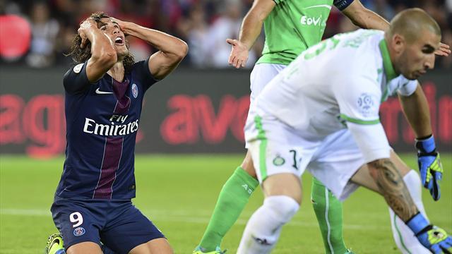 Rejoint sur le fil par Saint-Etienne, le PSG laisse de nouveau filer des points