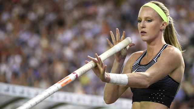 L'Américaine Morris devient la 2e femme à franchir 5 m à la perche en plein air