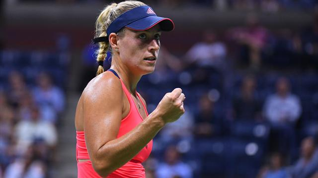 Кербер обыграла Плишкову в финале US Open