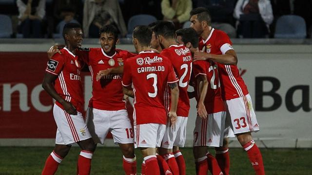 Benfica, liderliğini sürdürdü