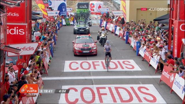 Vuelta: Nairo Quintana steht kurz vor Gesamstieg