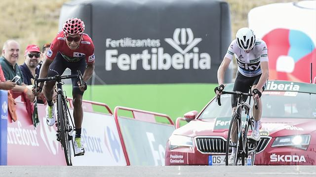 Quintana beats Froome to Vuelta crown, Latour wins stage 20