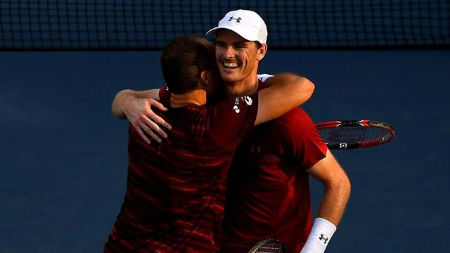 Брат Маррея выиграл US Open в парном разряде