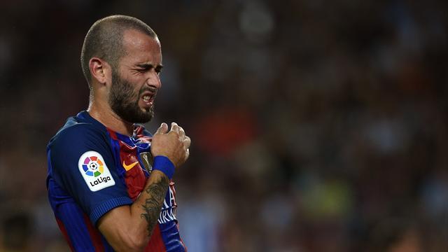 Aleix Vidal regresa a la convocatoria del Barça siete partidos después