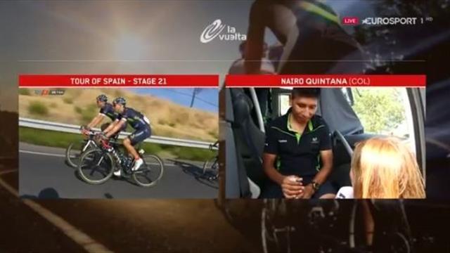 La Vuelta 2016: Entrevista a Nairo Quintana antes de coronarse en Madrid