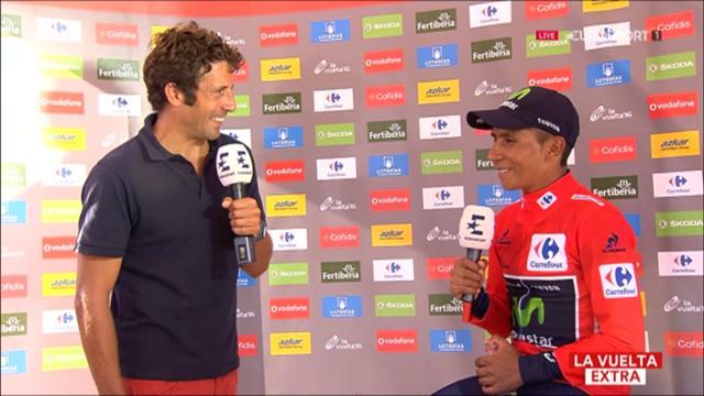 """Vuelta-Sieger Quintana: """"Hatte ein super Team an meiner Seite"""""""