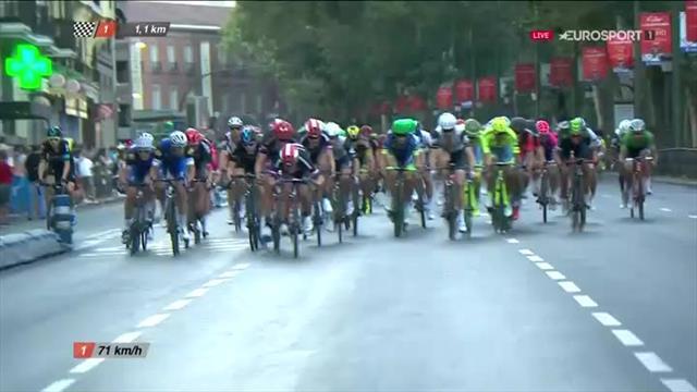 Vuelta a España 2016: solo Magnus Cort Nielsen batte Bennati! Festa Quintana