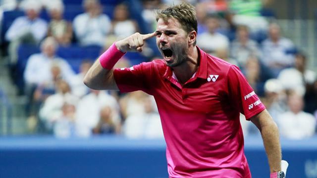 Wawrinka a gagné le titre… et le point du match !
