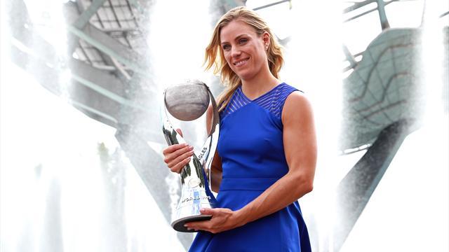 Кербер официально возглавила рейтинг WTA