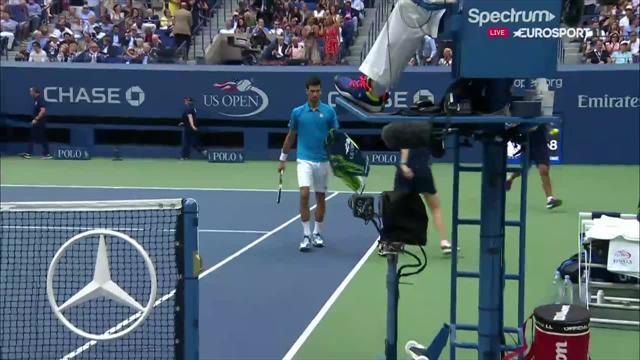 Djokovic a fait durer le plaisir, mais il a eu le dernier mot : les temps forts du 1er set