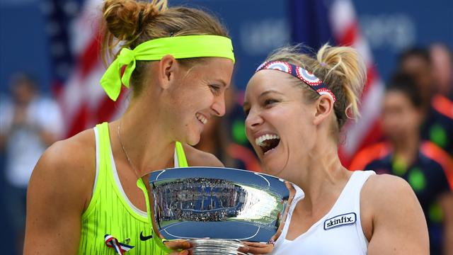Mattek-Sands and Safarova rally to claim US Open doubles title