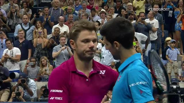 Wawrinka beats Djokovic in four sets to win US Open