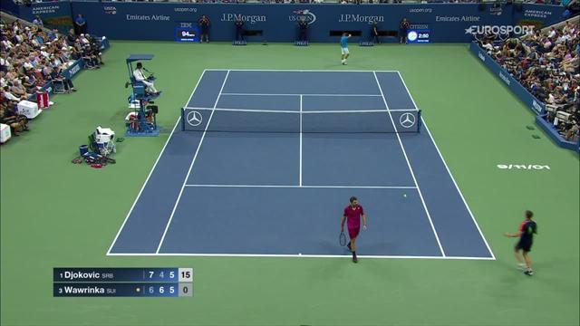 Best plays of the US Open final: Wawrinka beats Djokovic to claim US Open