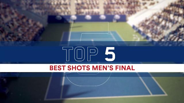 tennis us open finale herren