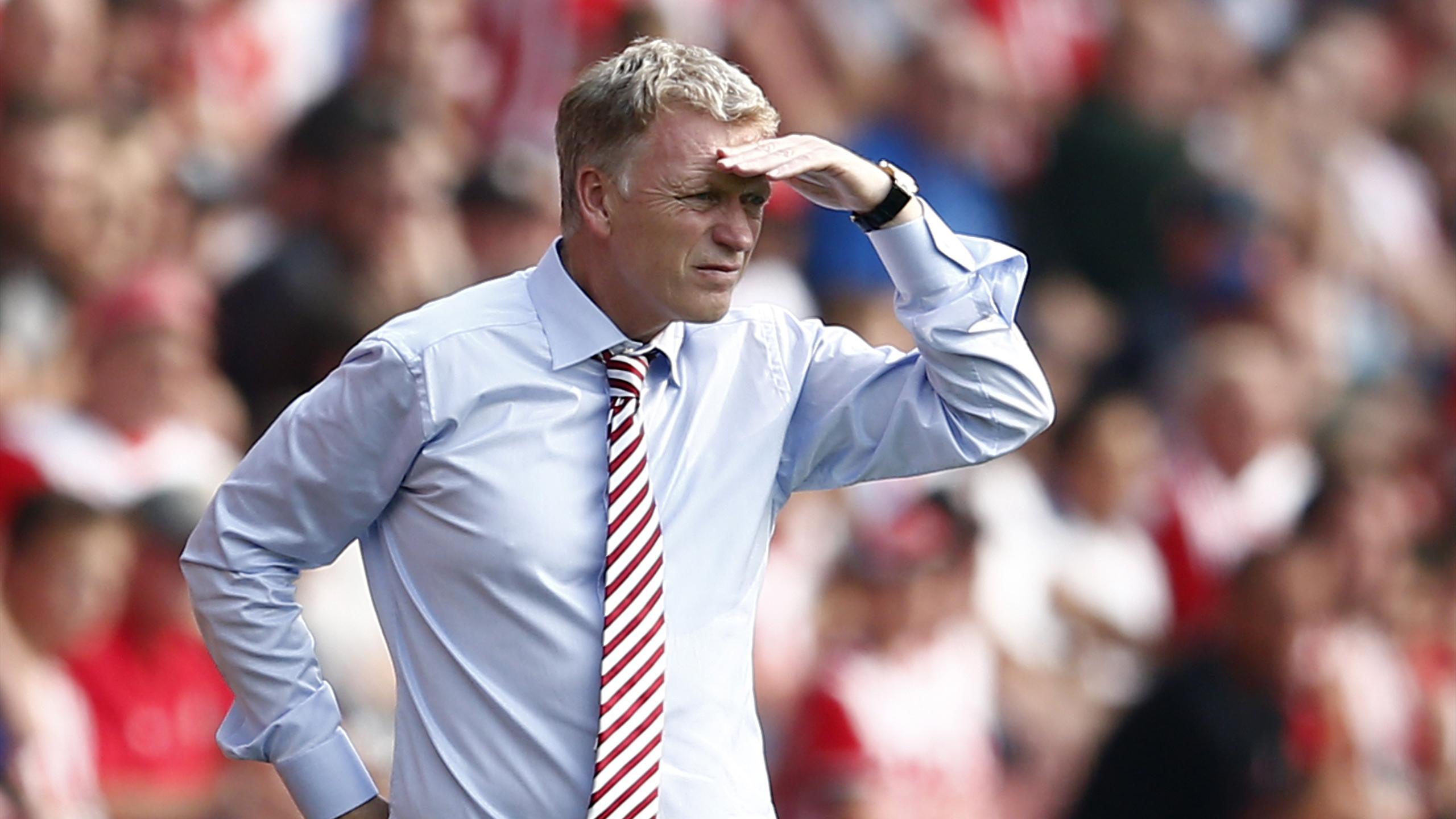 Sunderland manager David Moyes