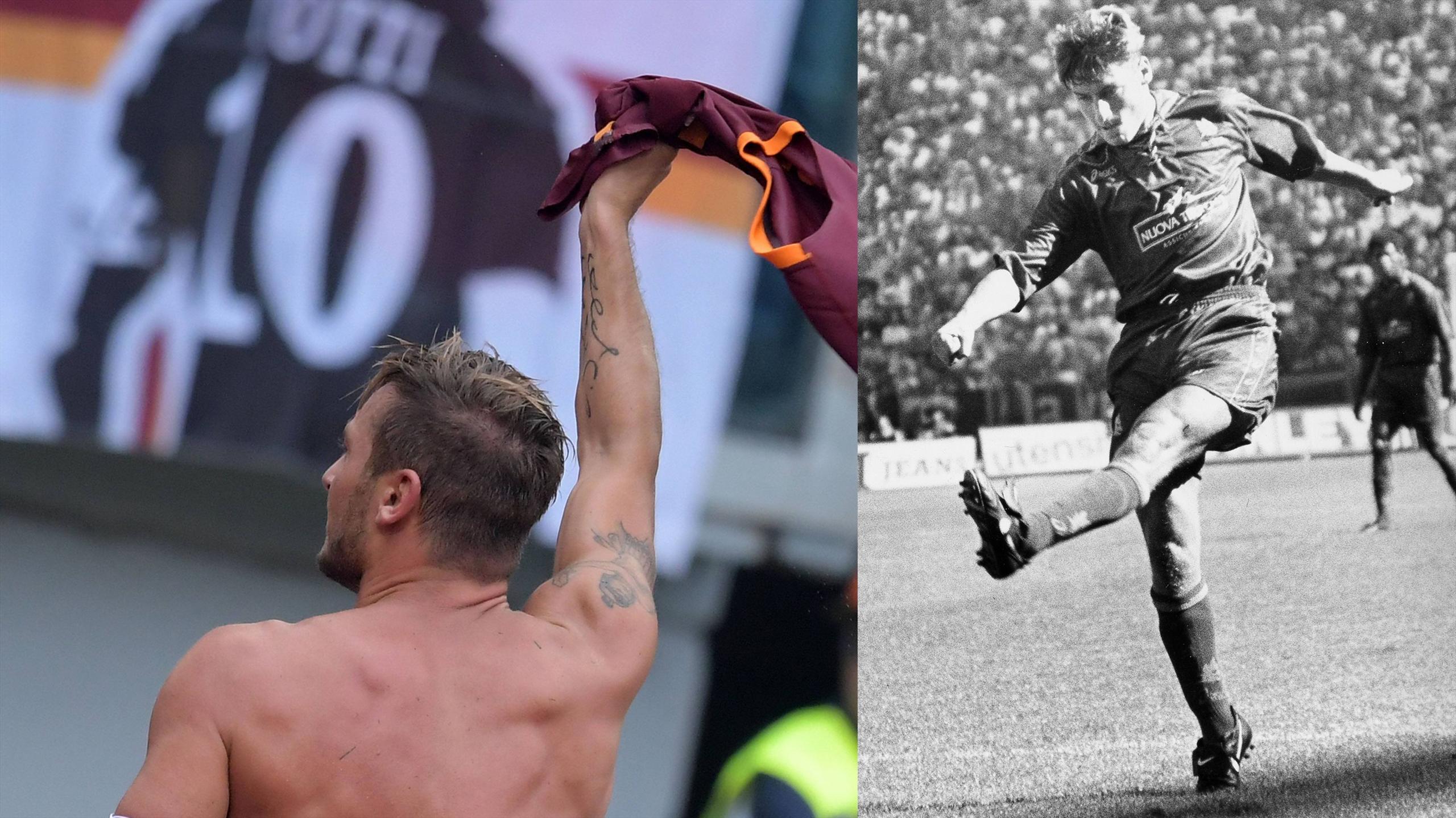 Francesco Totti - A true legend of the game
