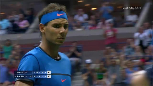 Wawrinka, Djokovic, Nadal : Les plus beaux points de la quinzaine