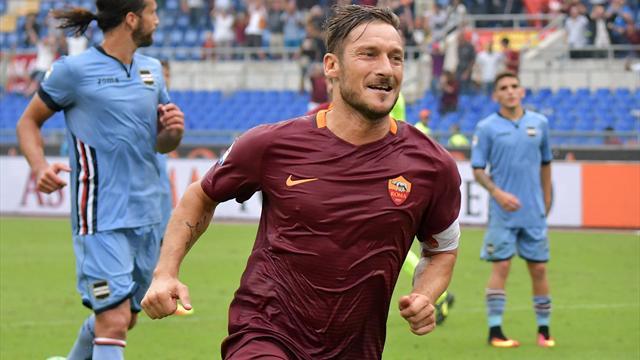 Francesco Totti, légende vivante de l'AS Roma